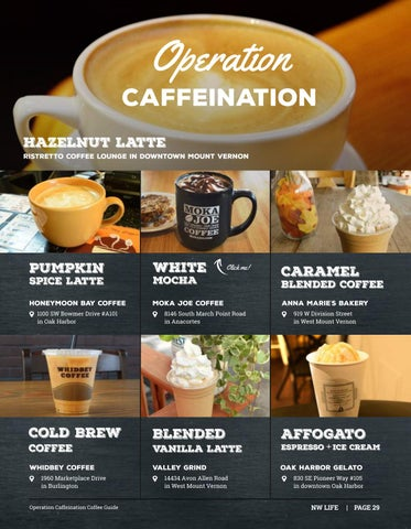 Page 29 of Operation Caffeination Coffee Guide