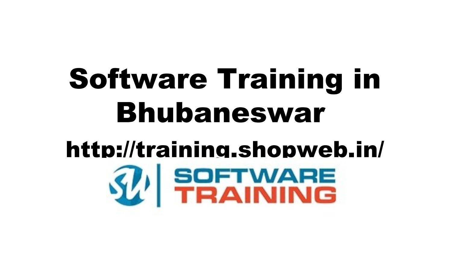 Software Training Institute In Bhubaneswar Web Designing Course In Bhubaneswar By Shopweb Training Issuu