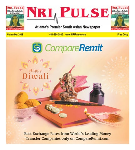Page 1 of NRI Pulse November 2018 Print Issue