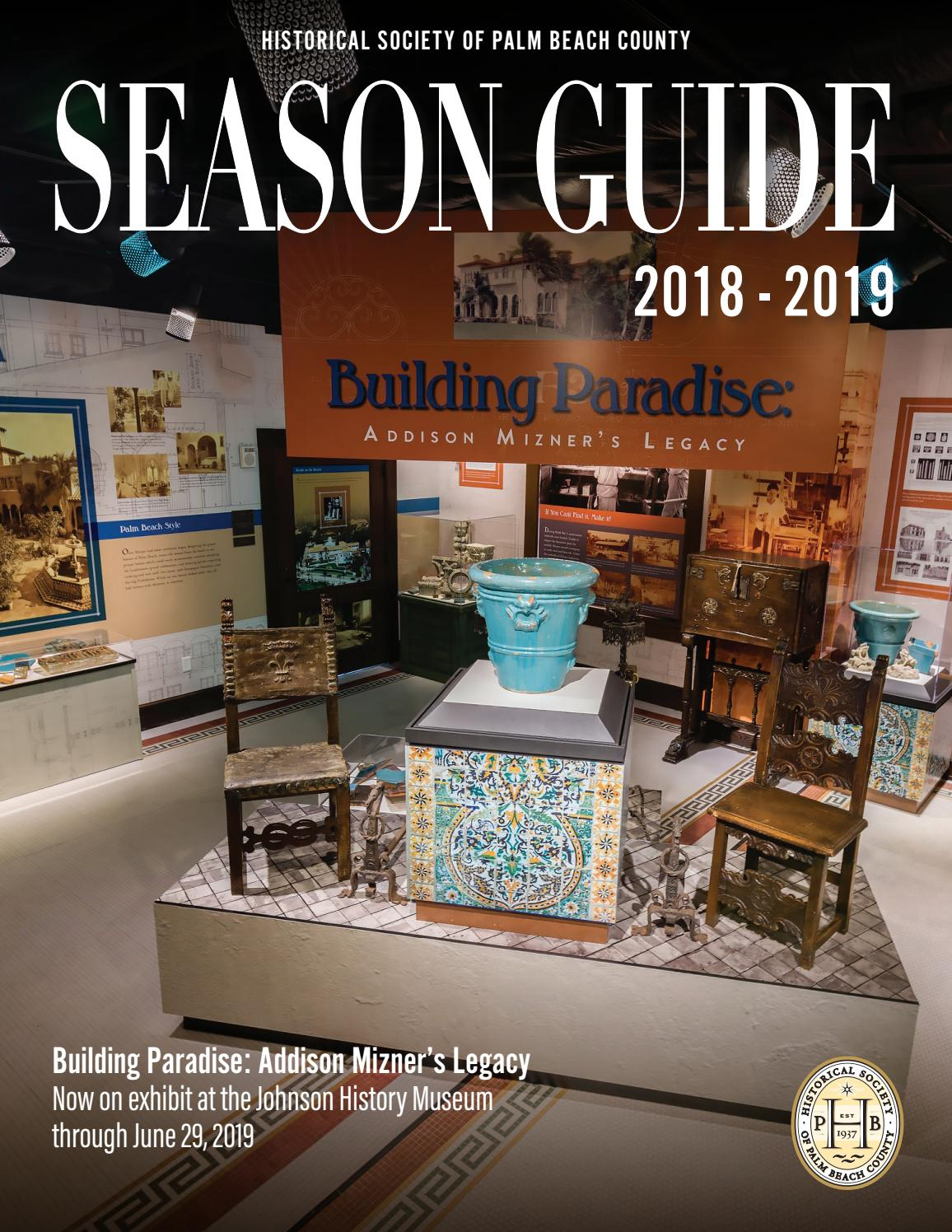 Ongekend 2018 Season Guide by Historical Society of Palm Beach County - issuu SC-57