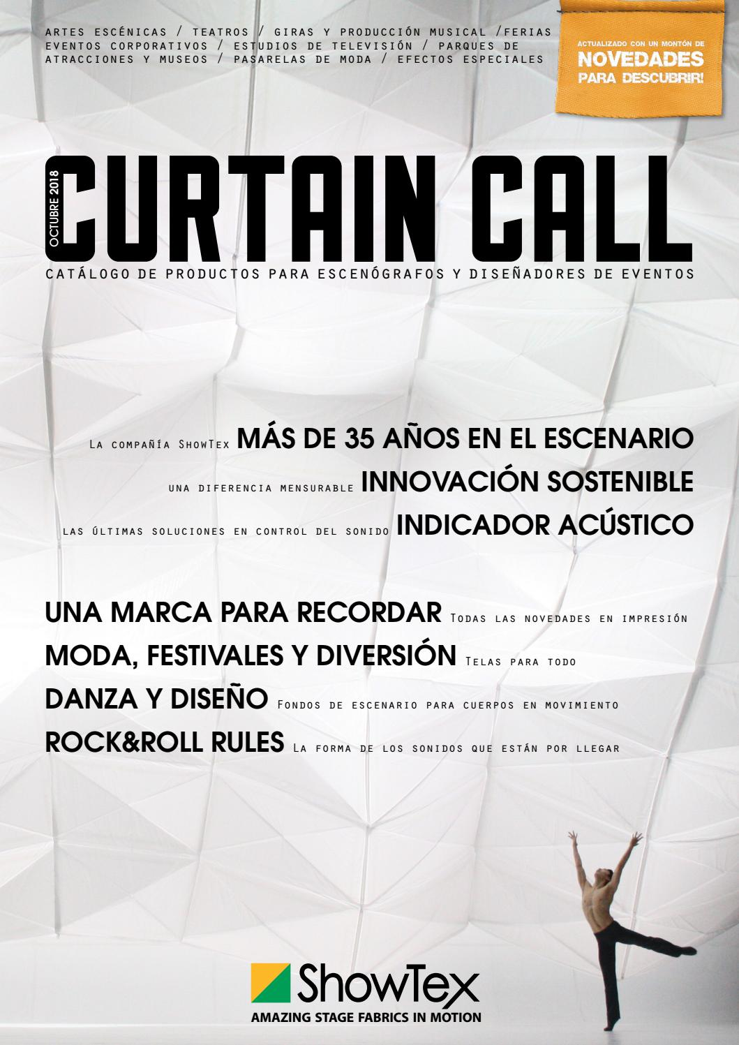 ddb96c3cbb18 ShowTex Curtain Call (Español) by ShowTex - issuu