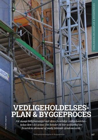 Page 147 of Vedligeholdelsesplan & byggeproces