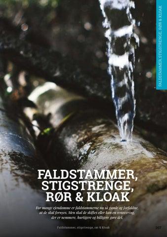 Page 207 of Faldstammer, stigstrenge, rør & kloak
