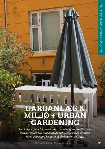 Page 213 of Gårdanlæg & miljø + Urban gardening