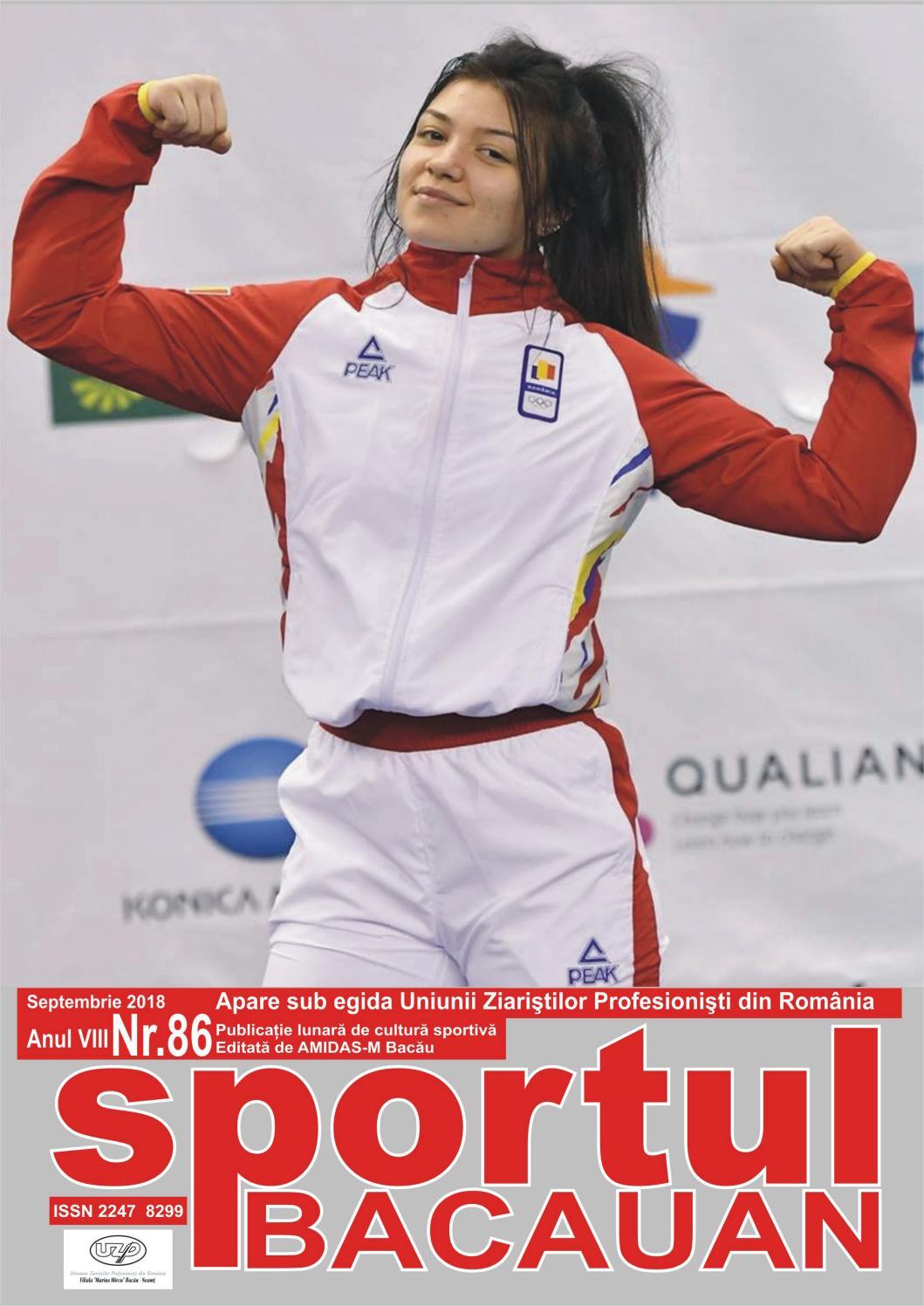 Anamaria Isachi sportul bacauan nr.86leonard popa - issuu