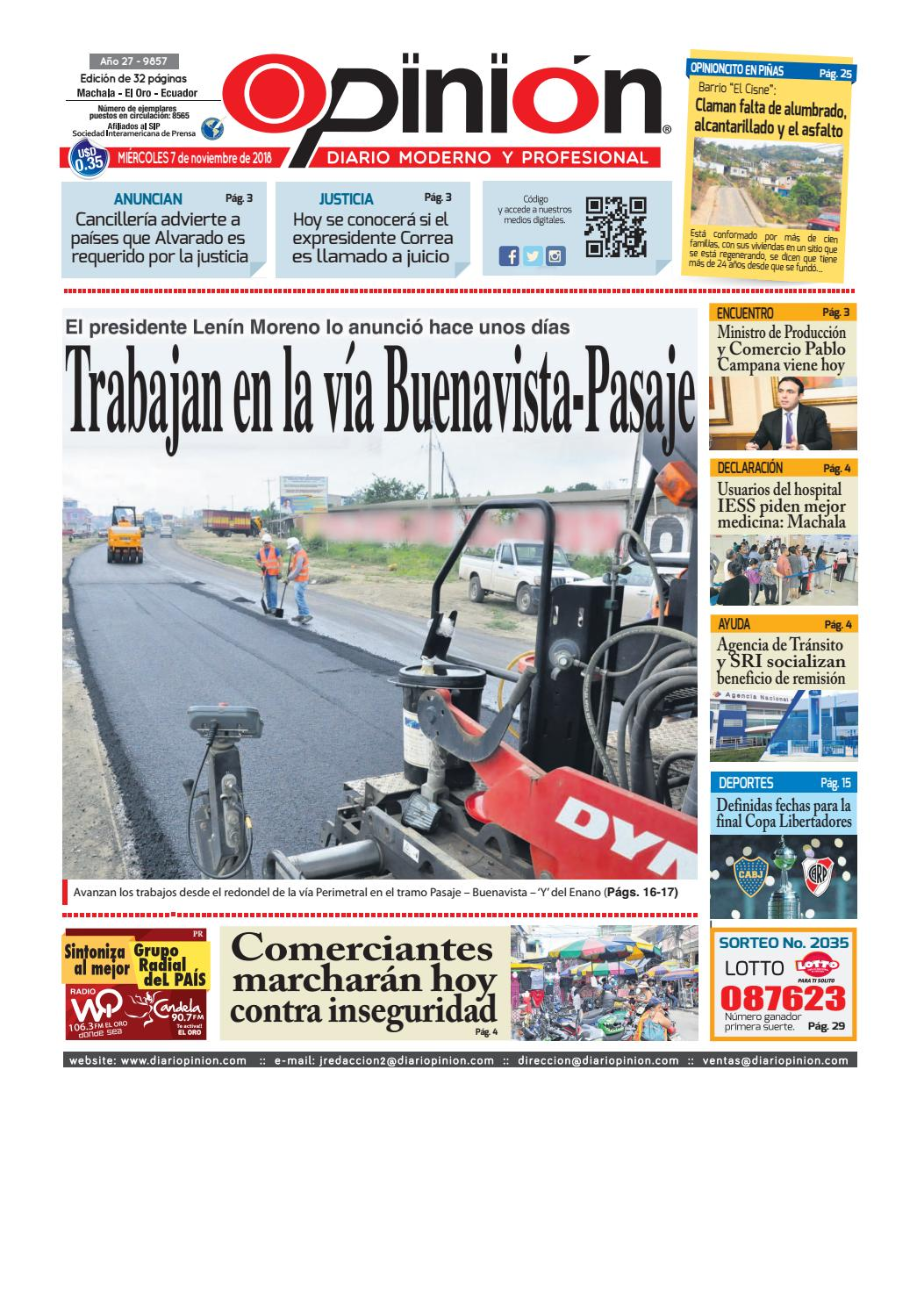 impreso 07-11-18 by Diario Opinion - issuu a83c9c15287