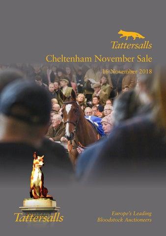 Tattersalls Cheltenham November Sale 16 November 2018 By Tattersalls