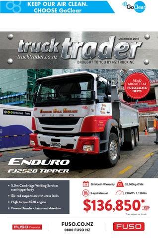 Truck Trader December 2018 by NZTrucking - issuu