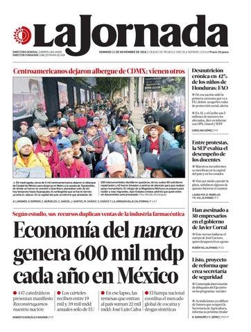 By La Issuu La By Jornada Issuu Jornada11112018 La Jornada Jornada11112018 BoxCWder
