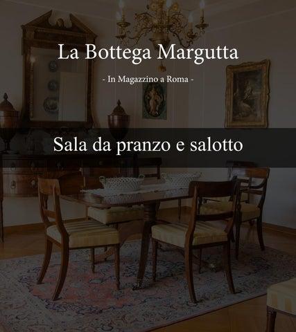 Catalogo Sala Da Pranzo E Salotto La Bottega Margutta By Bottega Margutta Issuu