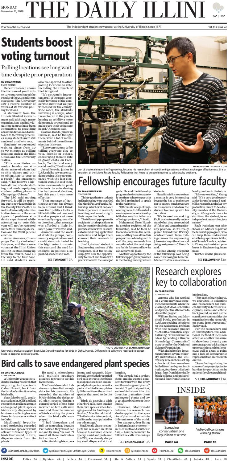 7ee94860bea The Daily Illini  Volume 148 Issue 23 by The Daily Illini - issuu