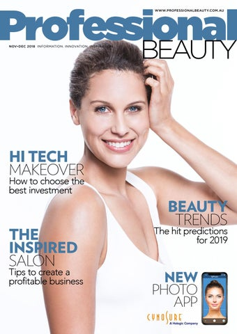 Professional Beauty Nov-Dec 2018 by The Intermedia Group - issuu