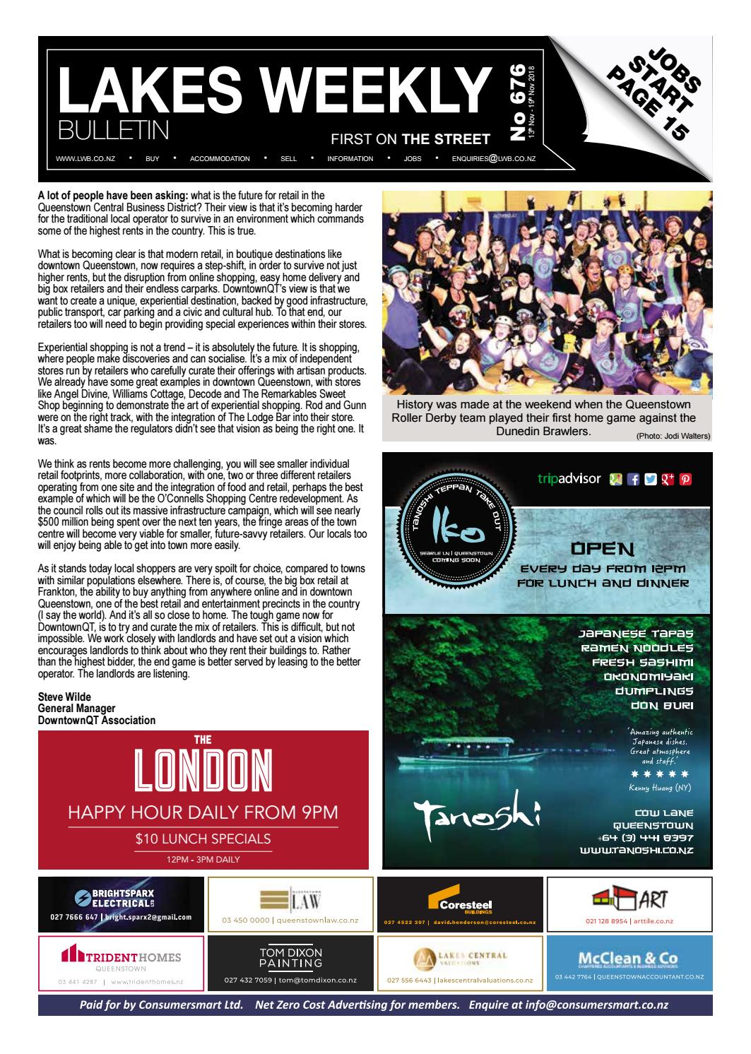 Issue 676 by Lakes Weekly Bulletin - issuu