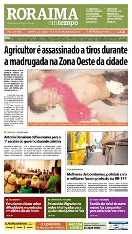 aed9d831f Jornal Roraima em tempo – edição 1080 by RoraimaEmTempo - issuu