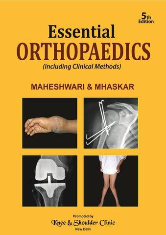 1f2ce6876 Essential Orthopaedics – 5th edition by San Raj - issuu