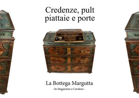 Piccola Credenza Da Restaurare : Catalogo credenze piattaie pult porte la bottega margutta by