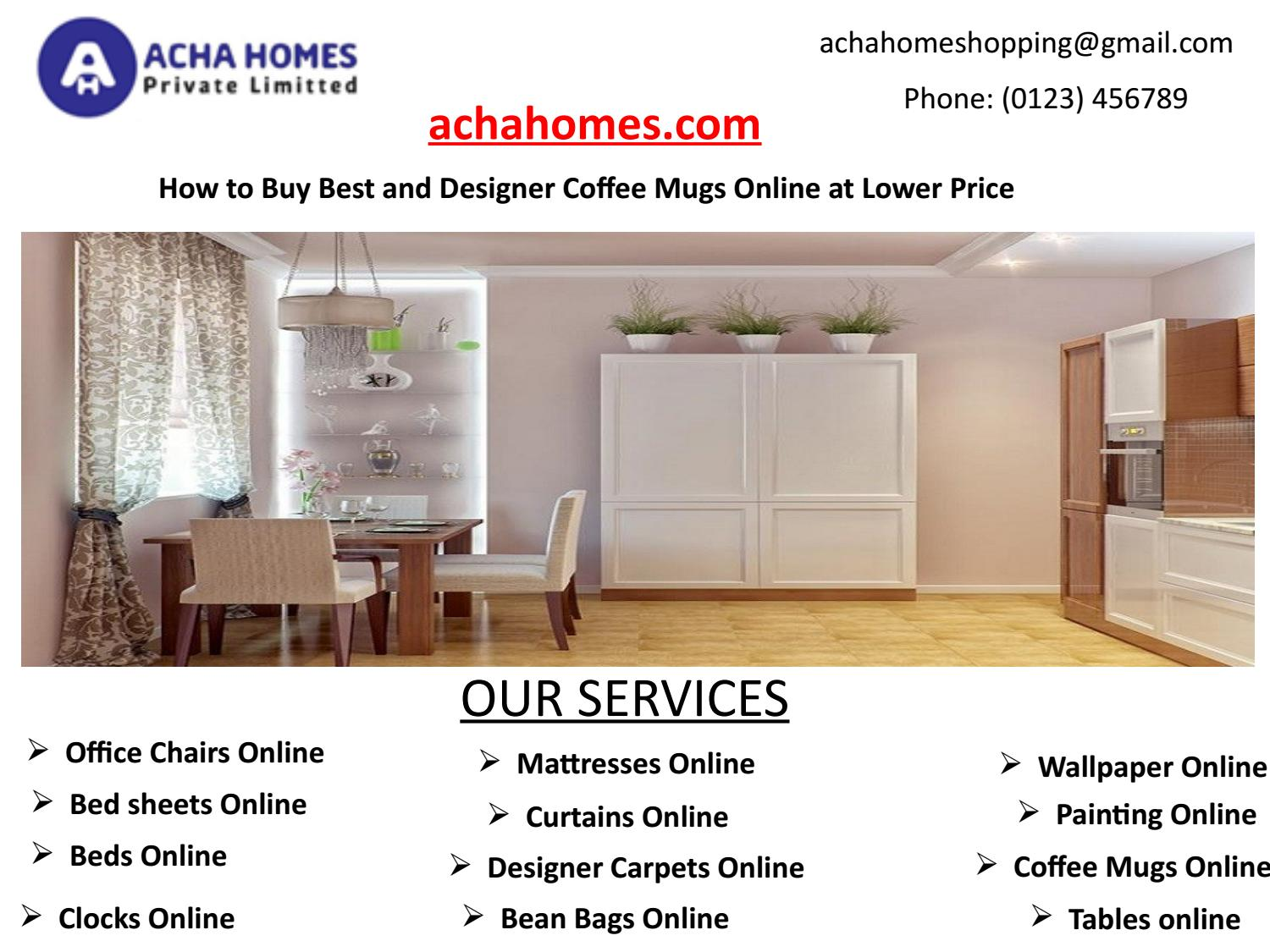 How To Buy Best And Designer Coffee Mugs Online At Lower Price By Achahomeshopping Issuu