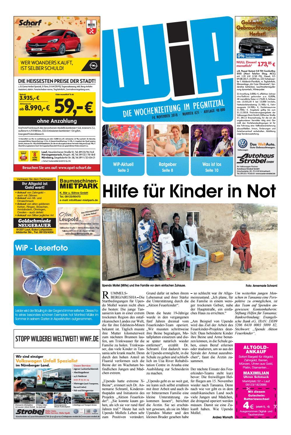 WiP 14.11.2018 by Pfeiffer Medienfabrik GmbH & Co. KG issuu