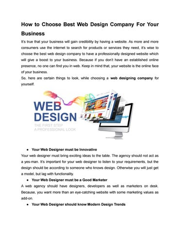 Web Design Company In Dubai Epitome It Services Uae By Epitome Issuu