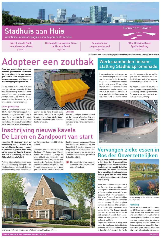 242cad3f49e Stadhuis aan Huis 7 november 2018 by Rodi Media - issuu