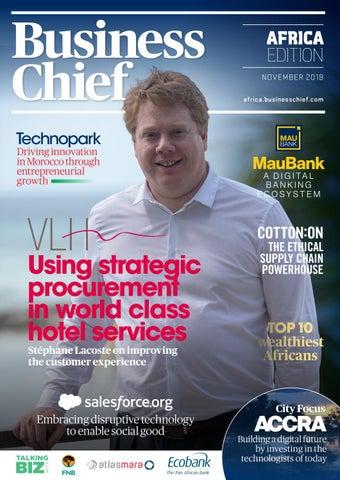 Business Chief Africa Magazine — November 2018