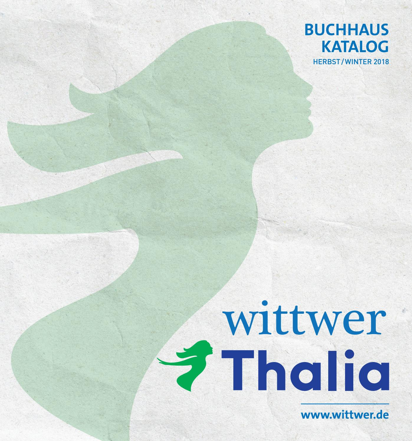Wittwer Thalia Buchhauskatalog Herbst Winter 2018 2019 By