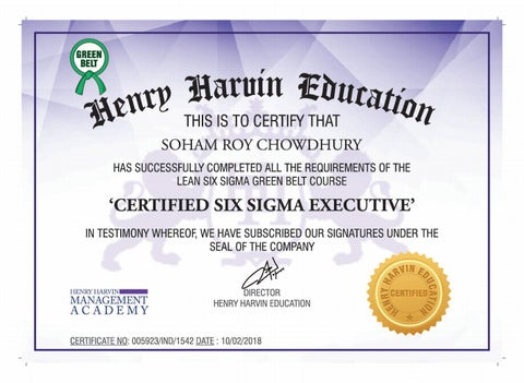 Lean Six Sigma Green Belt Certification   Henry Harvin Six Sigma