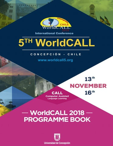 Program Book Guide WorldCALL by (Zentidos) Maturana Gonzalez y Cia ... 293be96fc