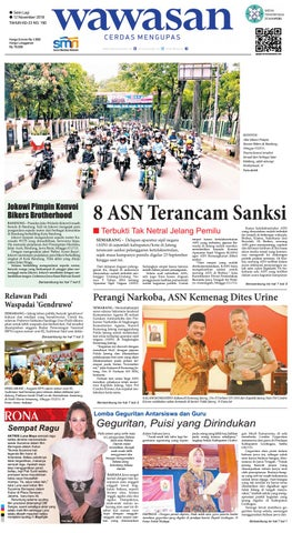 Wawasan 12 November 2018 By Koran Pagi Wawasan Issuu