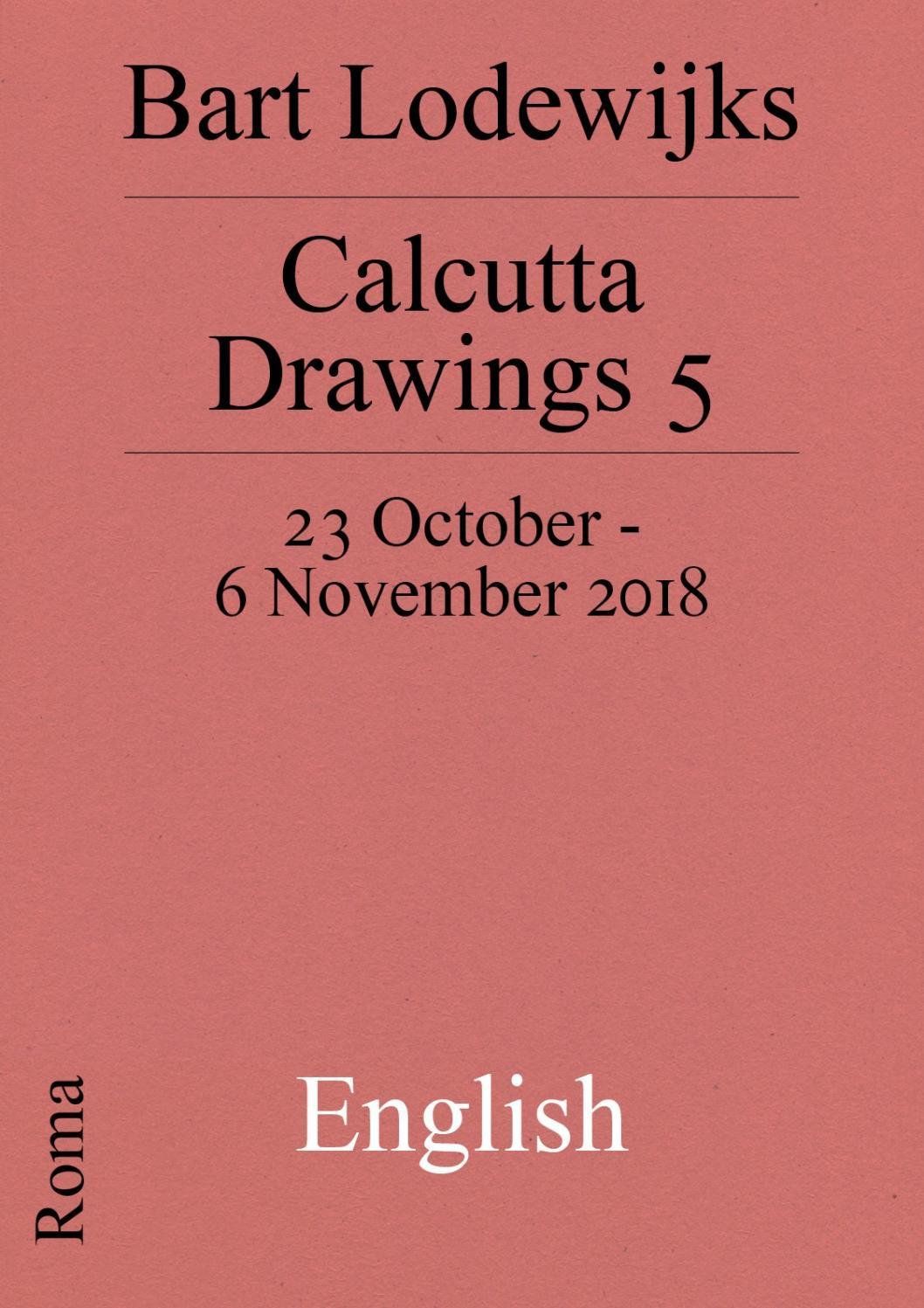 Calcutta Drawings 5 English by Roma Publications - issuu