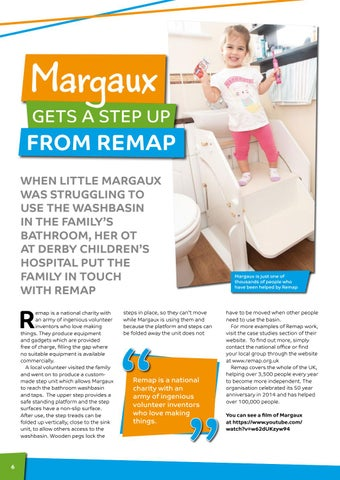 Page 6 of Margaux gets a step up from Remap!