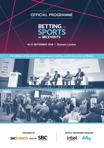 Betting on Sports Week 2018 Official Programme by Sports
