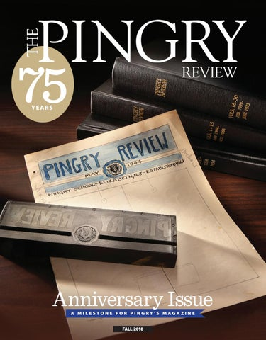 77dab3ea85 The Pingry Review - Fall 2018 by The Pingry School - issuu