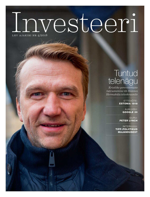 52d455d7234 Investeeri 4 2018 by LHV Pank - issuu