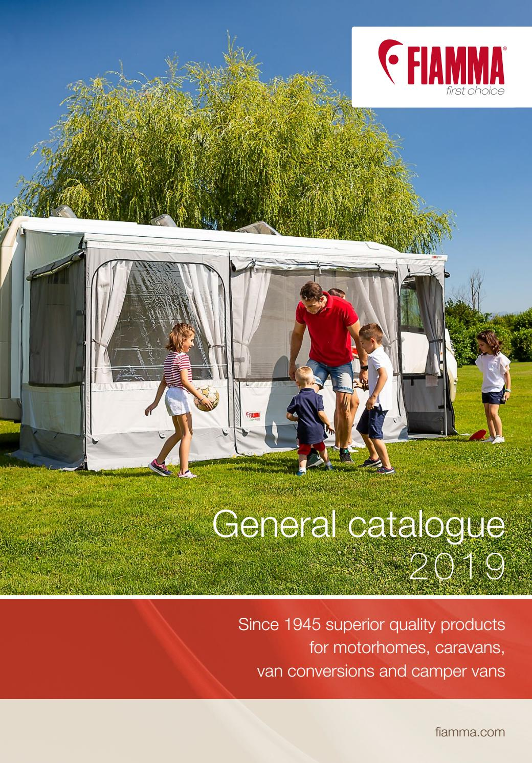 General Catalogue - Fiamma 2019 EN