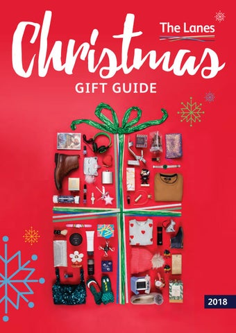 Christmas Gift Guide.The Lanes Christmas Gift Guide 2018 By The Lanes Shopping
