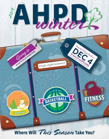 AHPD Winter 2019 Program Guide by Arlington Heights Park District