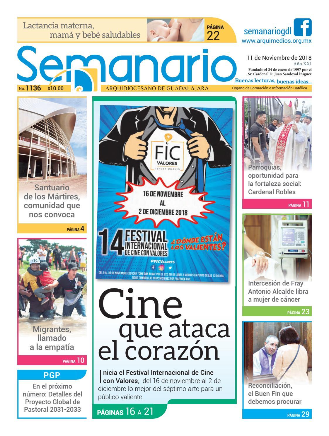 b4ba7270767 Semanario 1136 by Semanario Arquidiocesano de Guadalajara - issuu