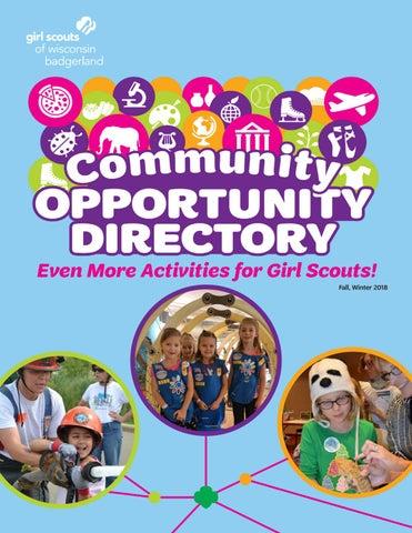 Badgerland Community Opportunities Directory Fallwinter