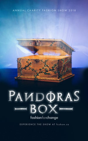Page 1 of Pandoras Box Booklet Cover