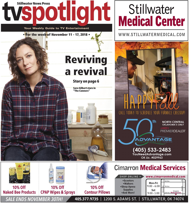 42807fbaea TV Spotlight 11-11-18 by Stillwater News Press - issuu