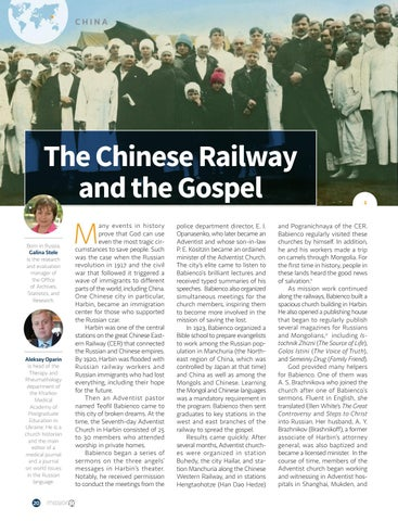 Page 20 of The Chinese Railway and the Gospel