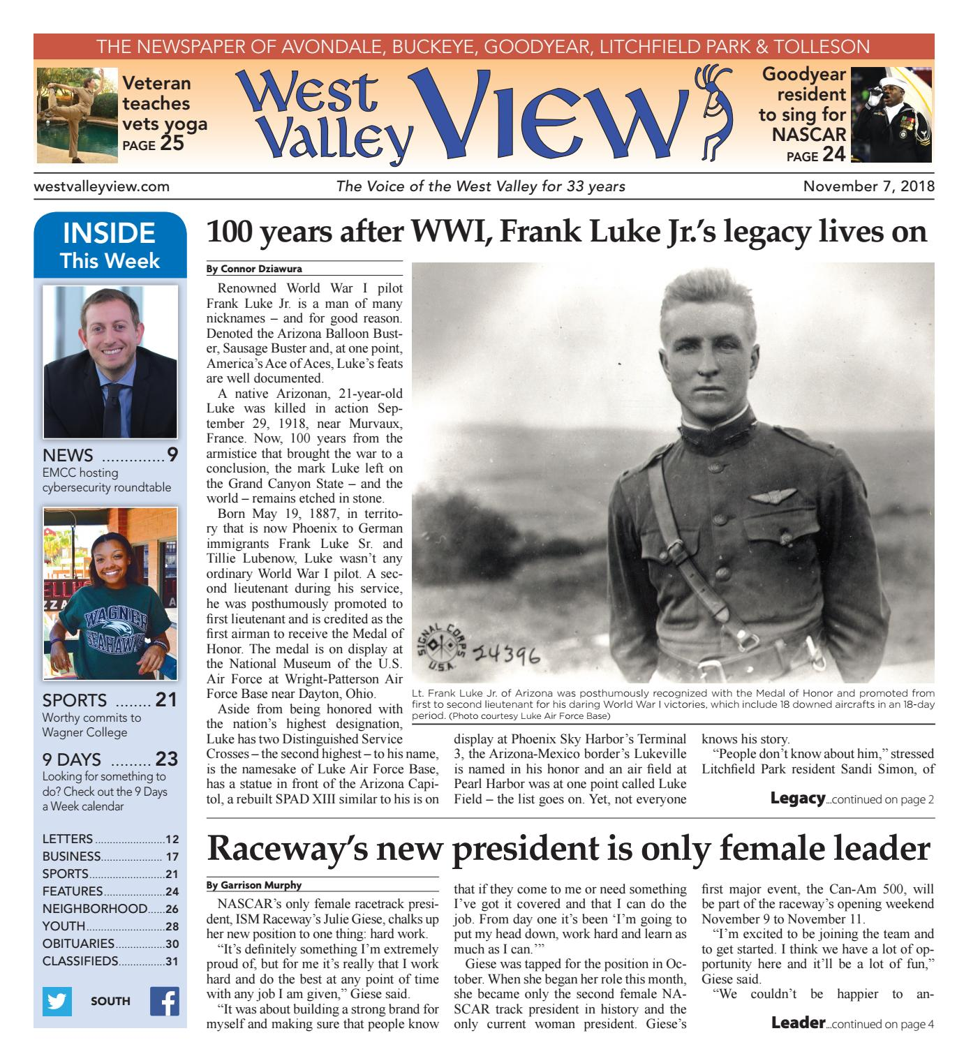 West Valley View: South November 7, 2018 by Times Media