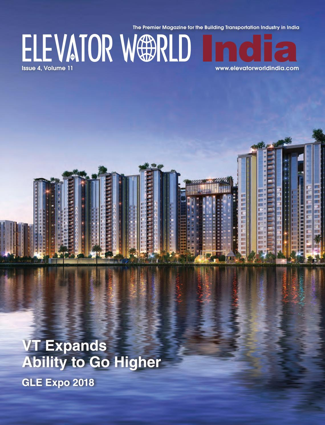 ELEVATOR WORLD India | 4th Quarter 2018 by Elevator World