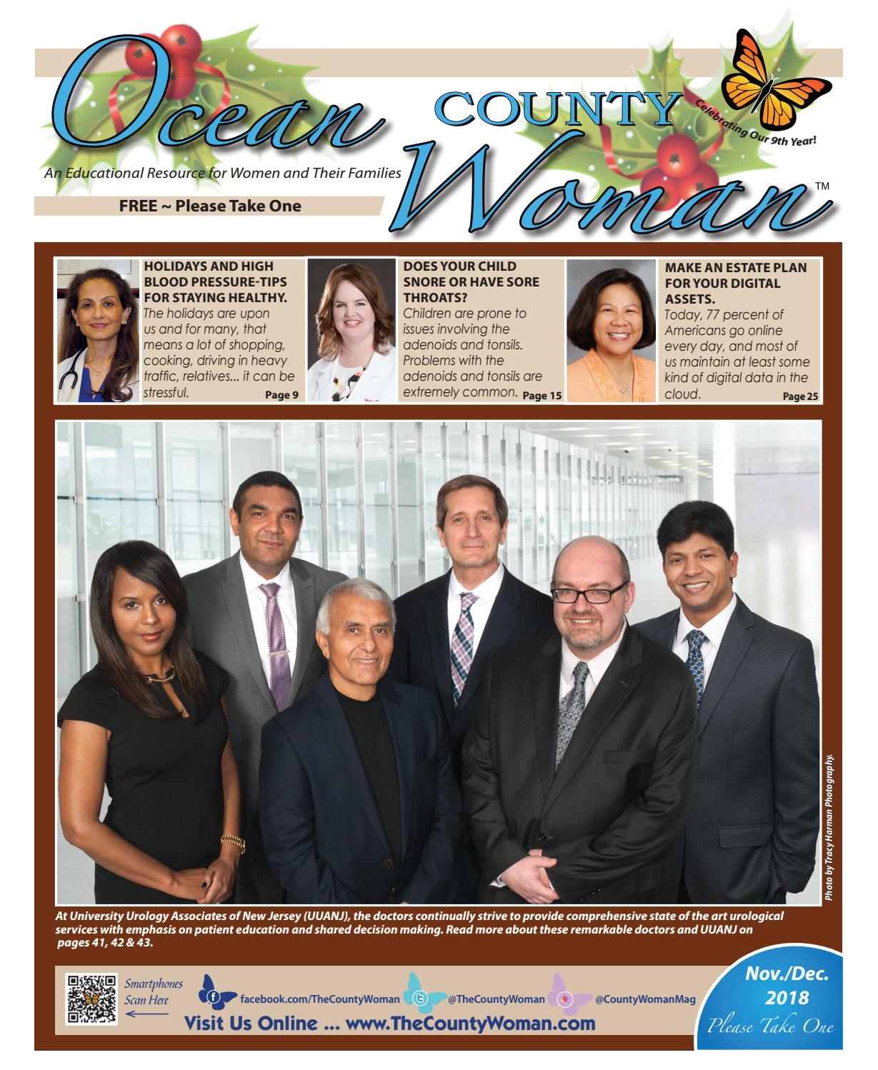 Ocean County Woman - November/December 2018 by The County