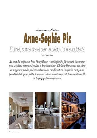 Page 16 of Anne Sophie Pic... Etonner, surprendre et oser !