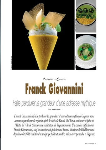 Page 27 of Franck Giovaninni, l'art de l'excellence