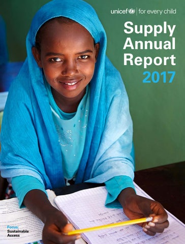 UNICEF Supply Division: Annual Report 2017 by UNICEF USA - issuu