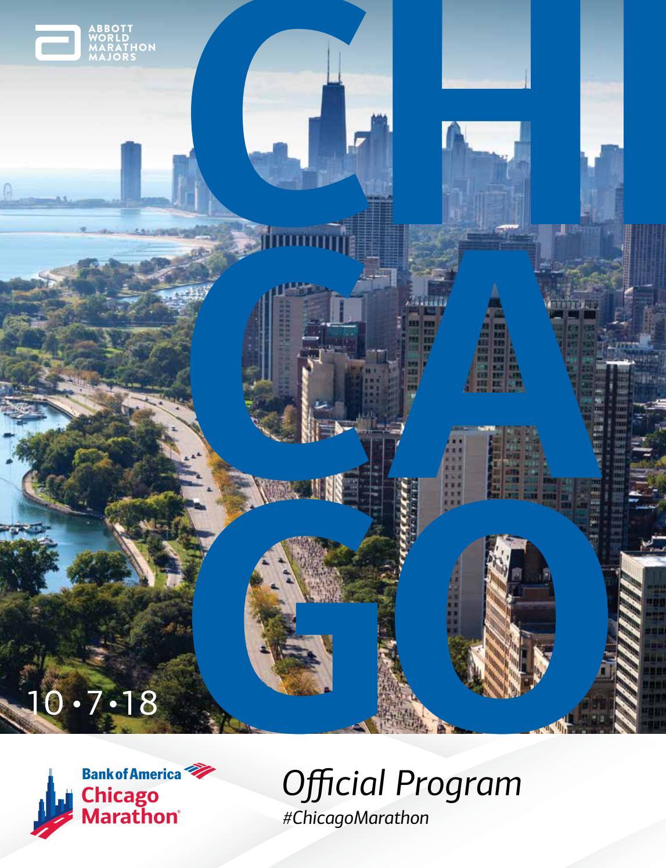 2018 Bank of America Chicago Marathon Program by Kelli L - issuu