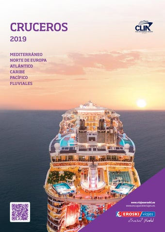 3ac52d62236e CRUCEROS 2019 MEDITERRÁNEO NORTE DE EUROPA ATLÁNTICO CARIBE PACÍFICO  FLUVIALES